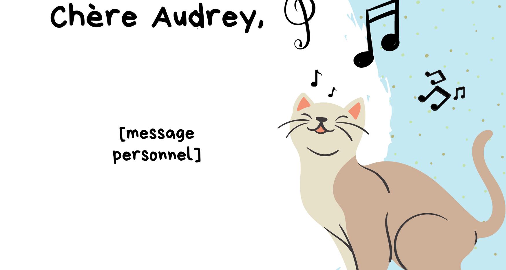 Cadeau Audrey