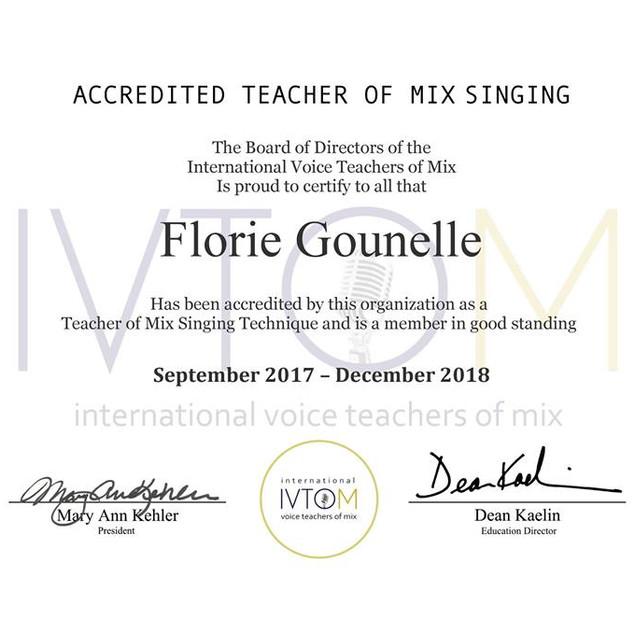 Ivtom certification 2018
