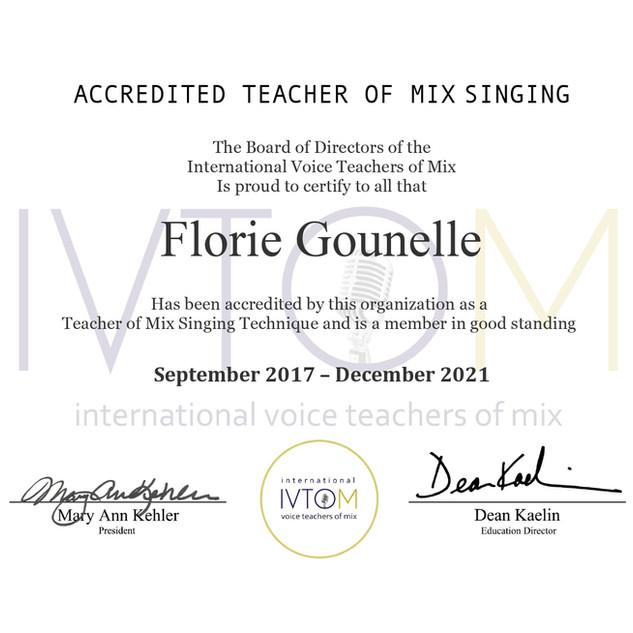 Ivtom certification 2021