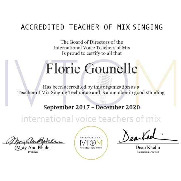 Ivtom certification 2020