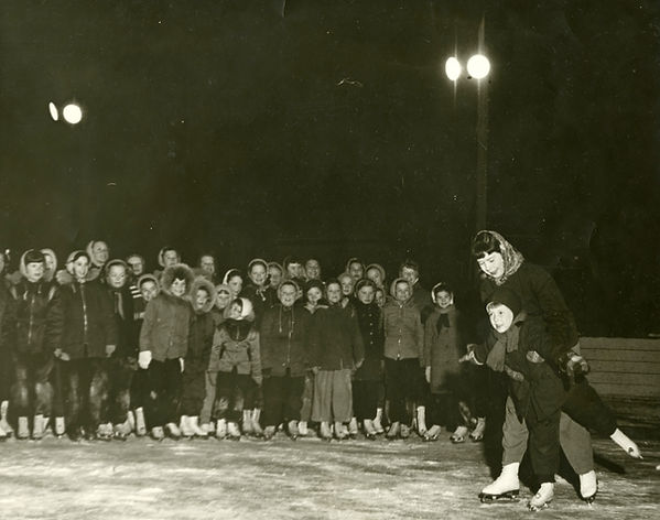Figure Skating Class at Kelvin C.C. Janu