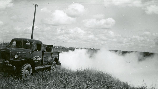 Fogging at the Elmwood Dump June 1955.jp