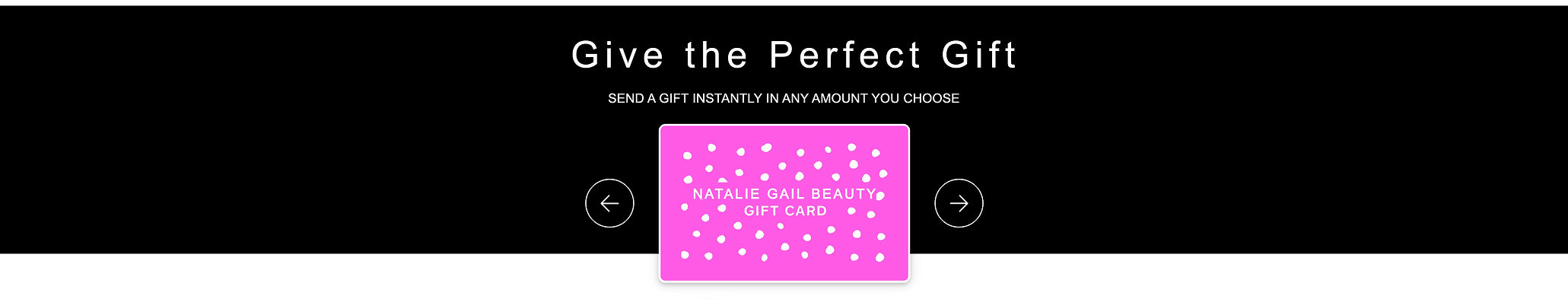 NATALIE GAIL EGIFT CARD