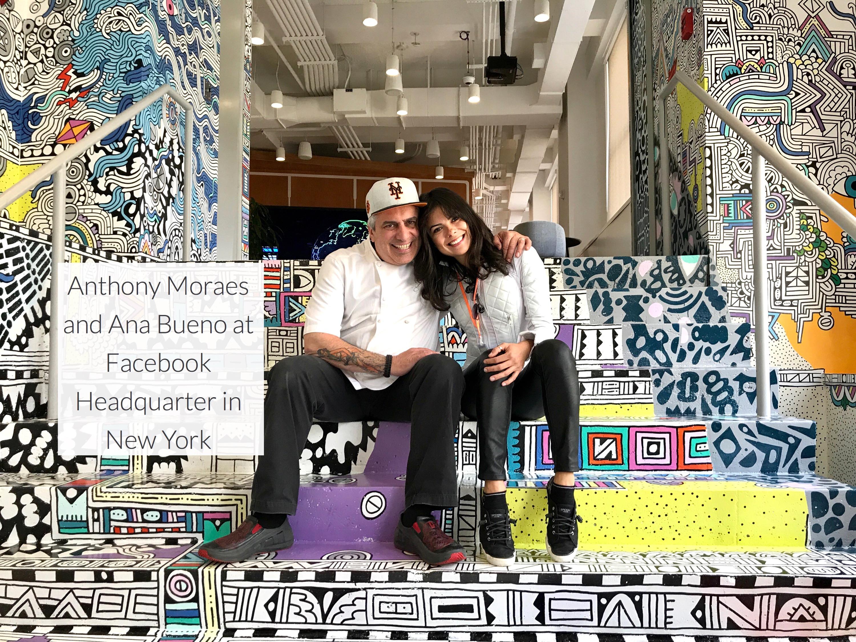 Anthony Moraes and Ana Bueno at Facebook in NY