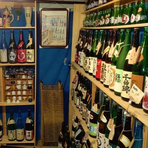 日本酒二百種以上