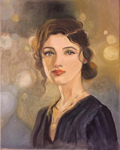 Portrait of a woman- 202