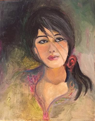 Portrait of a woman- 210