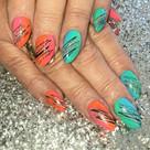 Nail art, acrylic nails, Plymouth.jpg