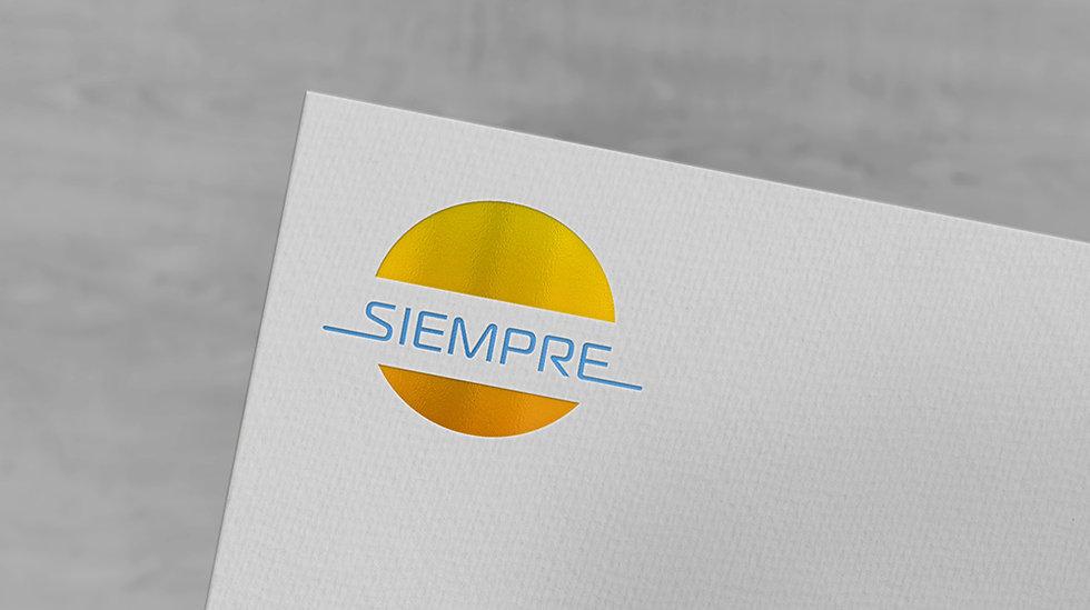 לוגו עסקי לחברת Siempre