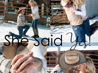 She Said Yes! ~ Colorado Springs Couples Photographer.