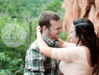 Colorado Springs Couples Photographer ~ Kaity & Nick Engagements
