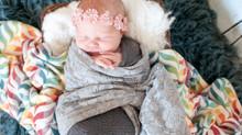 Rainbow Baby Kaley- Newborn Photographer
