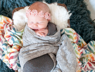Rainbow Baby Kaley- Newborn Photographer