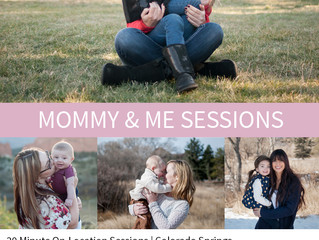 Mommy & Me Sessions