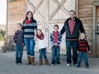 Colorado Springs Family Photographer ~ Lawrence Family