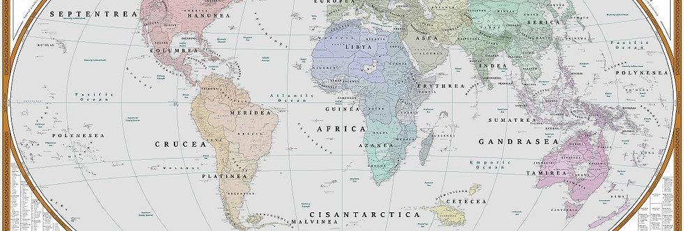 World Map | Regional Geography Theme