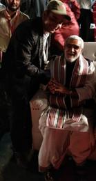 Mr. Shivanshu with Minister of State for health and family welfare Shri Ashwini Kumar Choubey
