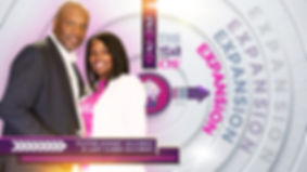 2020 The Year of Expansion Pastor & Lady