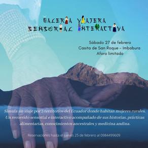 Galeria Viajera Sensorial Interactiva (Imbabura)