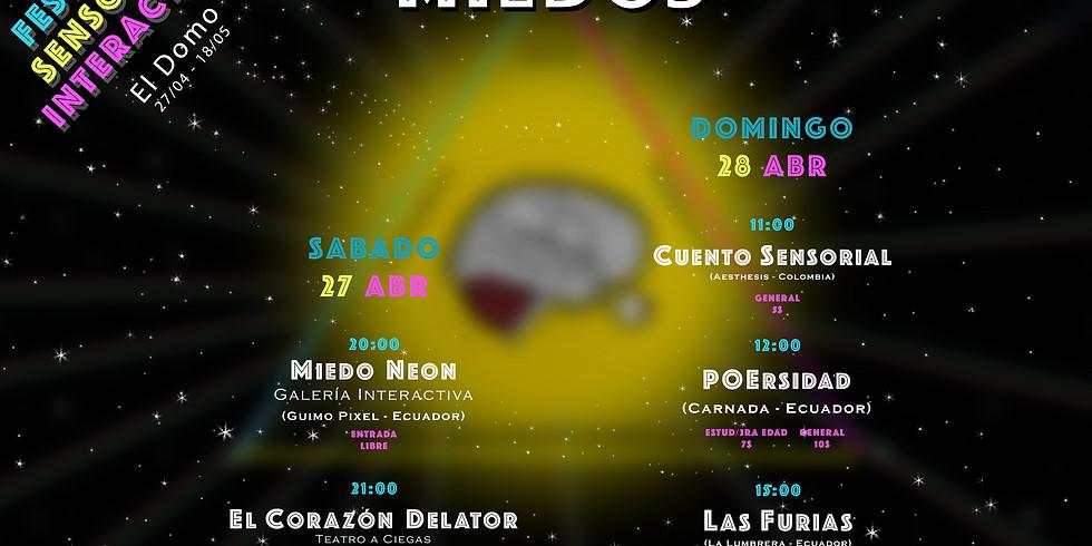 3er Festival Sensorial Interactivo parte 1 (MIEDOS)