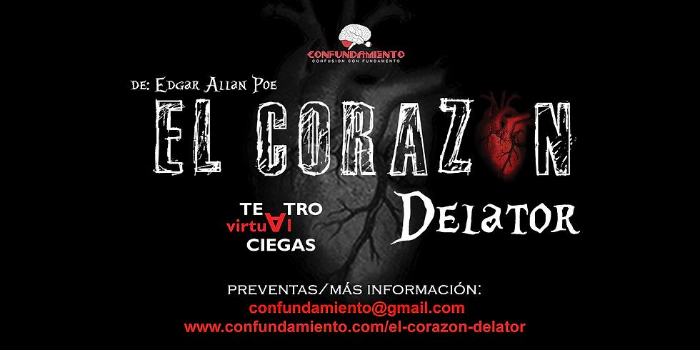 EL CORAZÓN DELATOR - Teatro Virtual a Ciegas