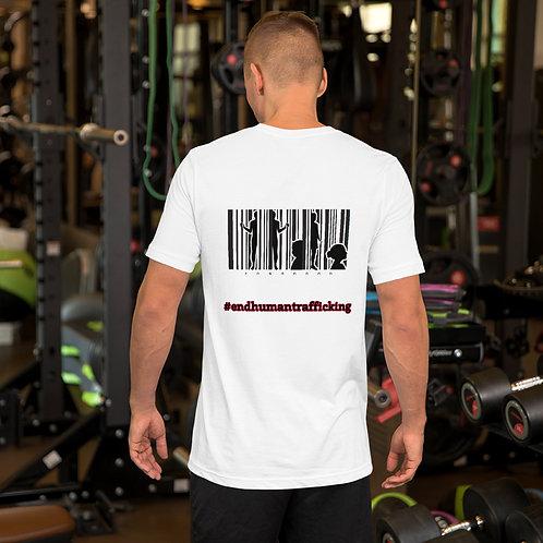 Short-Sleeve Unisex T-Shirt Barcodes