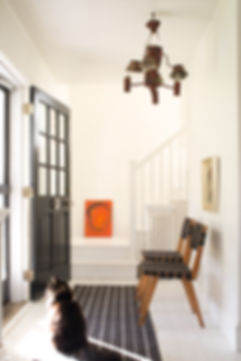 Cat_seated_in_Entryway_Painted_in_White_