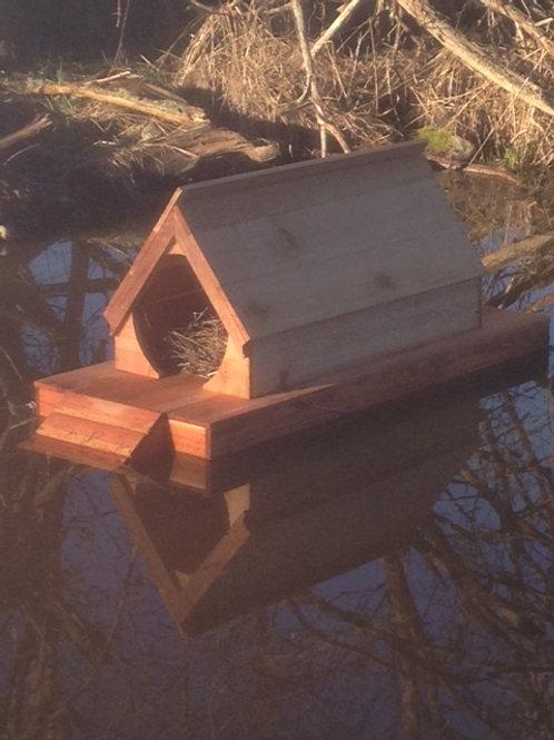 Mallard Mansion Floating Duck House