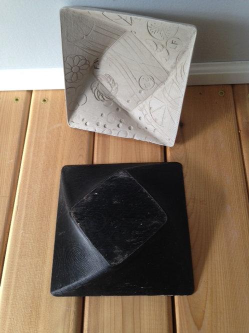 Square-Swirl Bowl Mold
