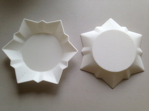 Snowflake Plate Mold