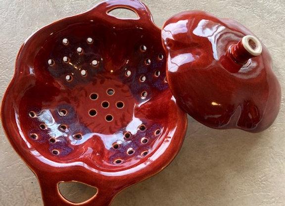 Stoneware Chestnut Roaster