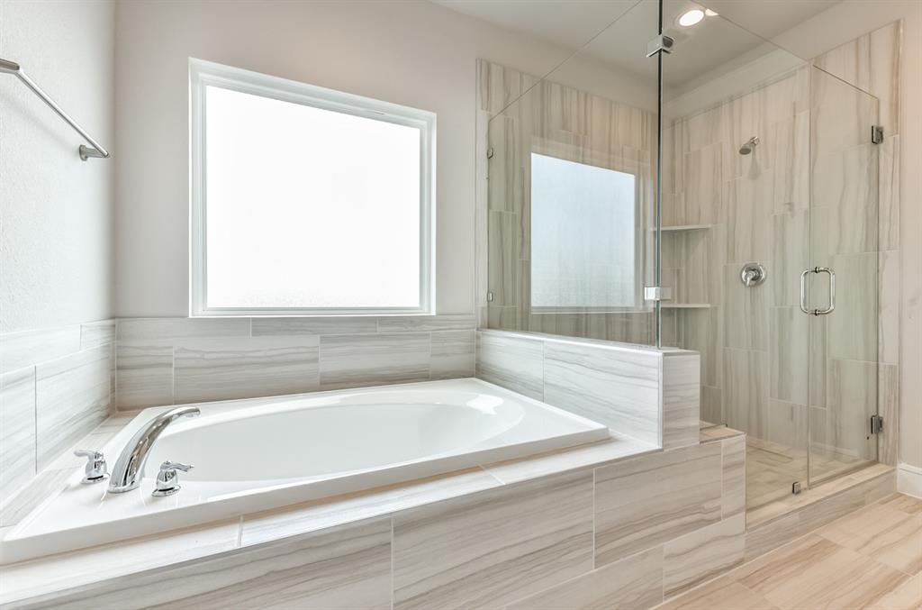 Garden Tub & Walk-in Shower