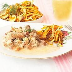 Бефстроганов с картофельными чипсами 280 г