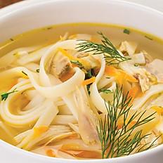 Куриный суп с домашней лапшой 300 г
