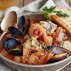 Морепродукты в томатном соусе  250 г