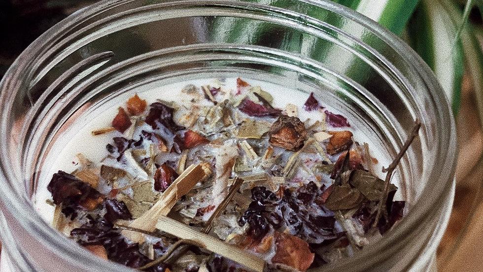 Spiritual Protection Herbal Candle