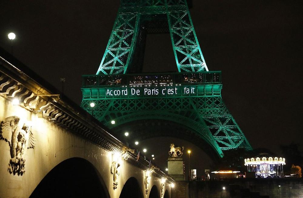 Paris Agreement, Green Firebreak, Climate Change, Greenhouse gases