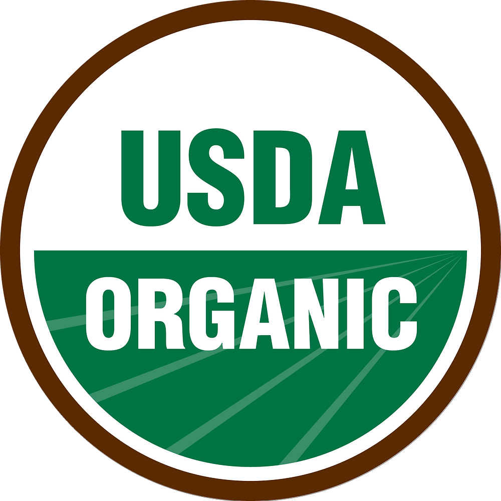 USDA Organic, Organic, Green Firebreak, packaging label, product label, reduce plastic