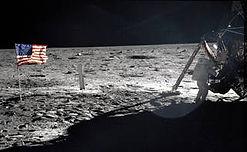 Lunar Flag Assembly  - © Copyright NASA