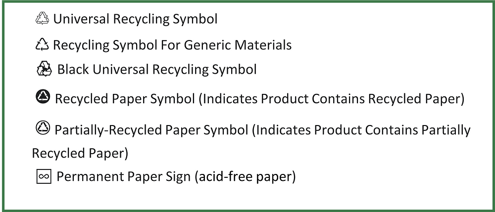 Mobius Loop, Recycling, Green Firebreak, packaging label, product label, reduce plastic
