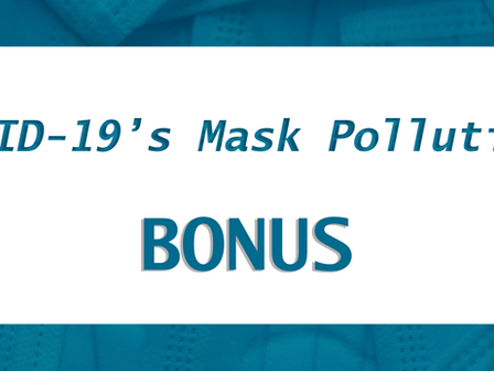 COVID-19's Mask Pollution: Bonus