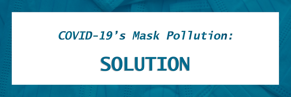 Face Mask production, face masks consumption, face mask loss, face mask solution, Green Firebreak, Mask Pollution, Reduce Plastic, Face Mask