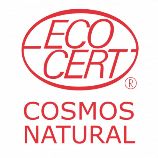 Cosmos Natural, Ecocert, Green Firebreak, packaging label, product label, reduce plastic