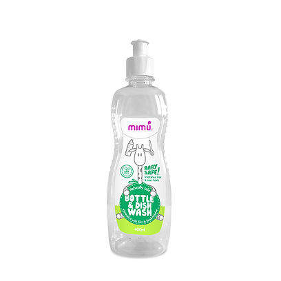 mimu bottle and dish wash
