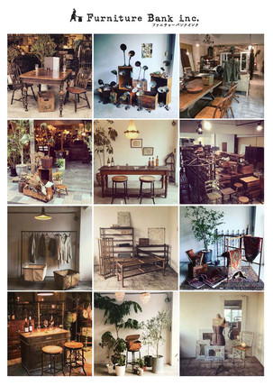 【10th.SHOP紹介】16. Furniture Bank inc./アンティーク家具/広島