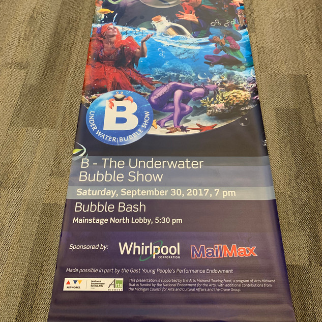 2017-2018 B-The Underwater Bubble Show