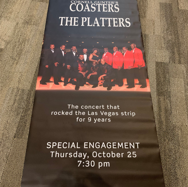 2018-2019 The Drifters, Coasters, The Platters