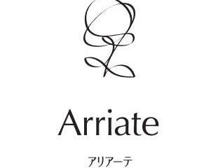 アリアーテのロゴをデザインしてもらいました。