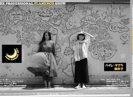 2018/12/2(日)荒木町(四谷三丁目)カサアルティスタLUNA CRECIENTE vol.1