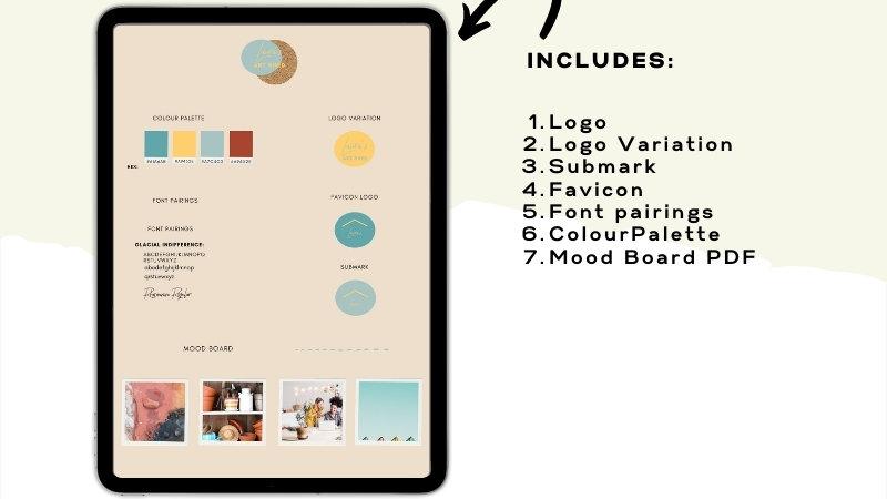 Custom Designed Branding Boards